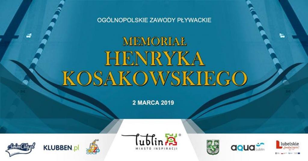 Zapowiedź: Memoriał imienia Henryka Kosakowskiego 2019