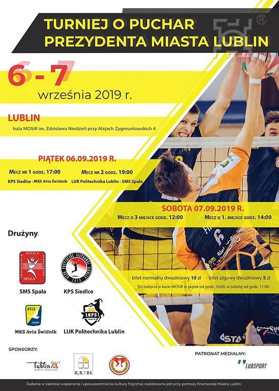 Zapowiedź: Turniej o Puchar Prezydenta Miasta Lublin