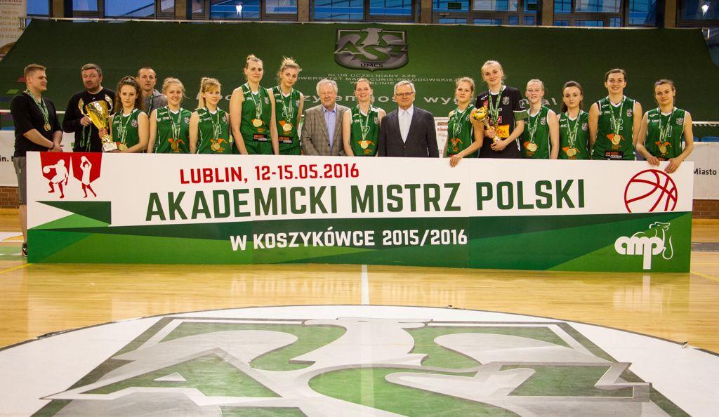 Koszykarki UMCS Lublin wygrały Akademickie Mistrzostwa Polski