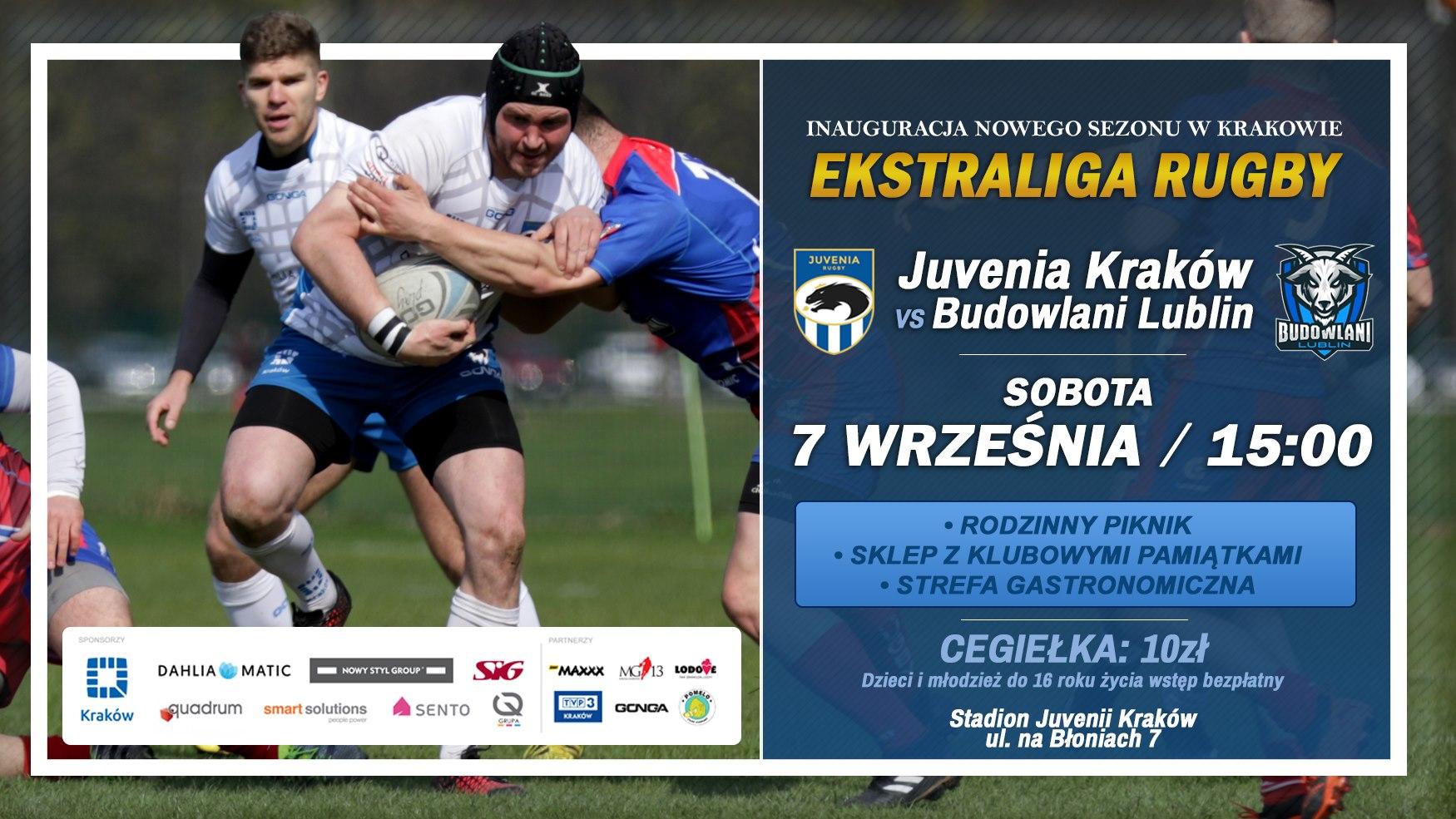 Juvenia Kraków – KS Budowlani Lublin 29:14 (17:9)