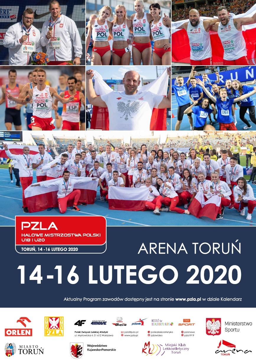 Zapowiedź PZLA Halowych Mistrzostw Polski U18 i U20