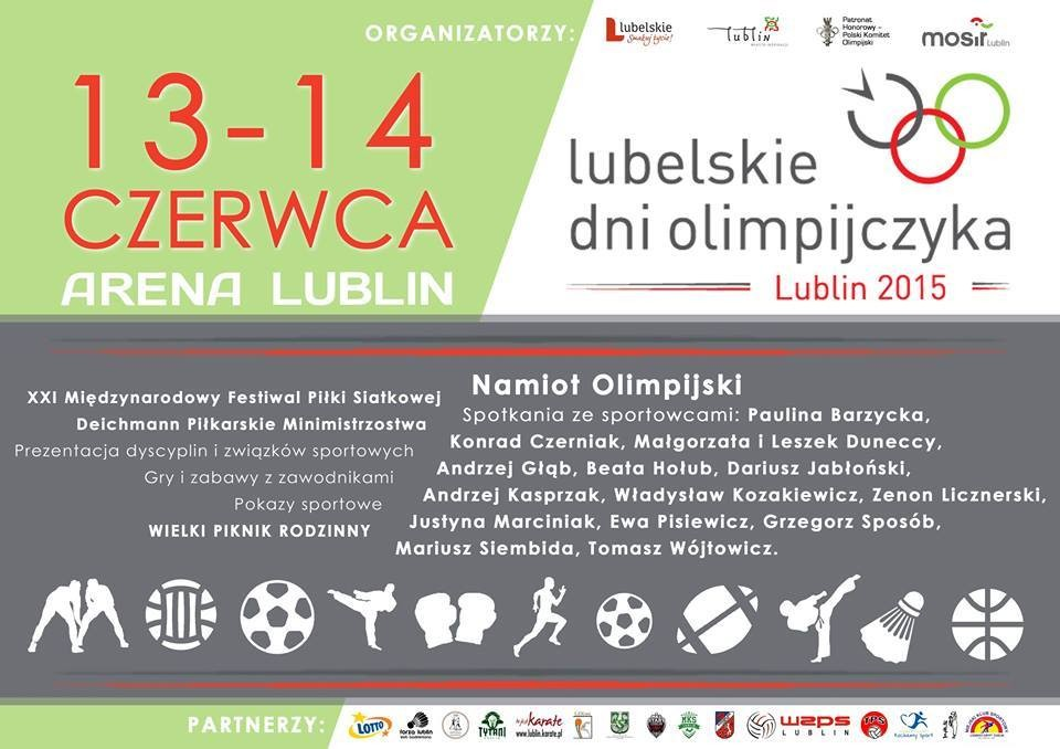 W sobotę i niedzielę na Arenie Lublin odbyły się Lubelskie Dni Olimpijczyka