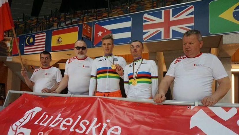 Rowerzyści Hetmana Lublin wywalczyli trzy złote medale mistrzostw świata w Szwajcarii