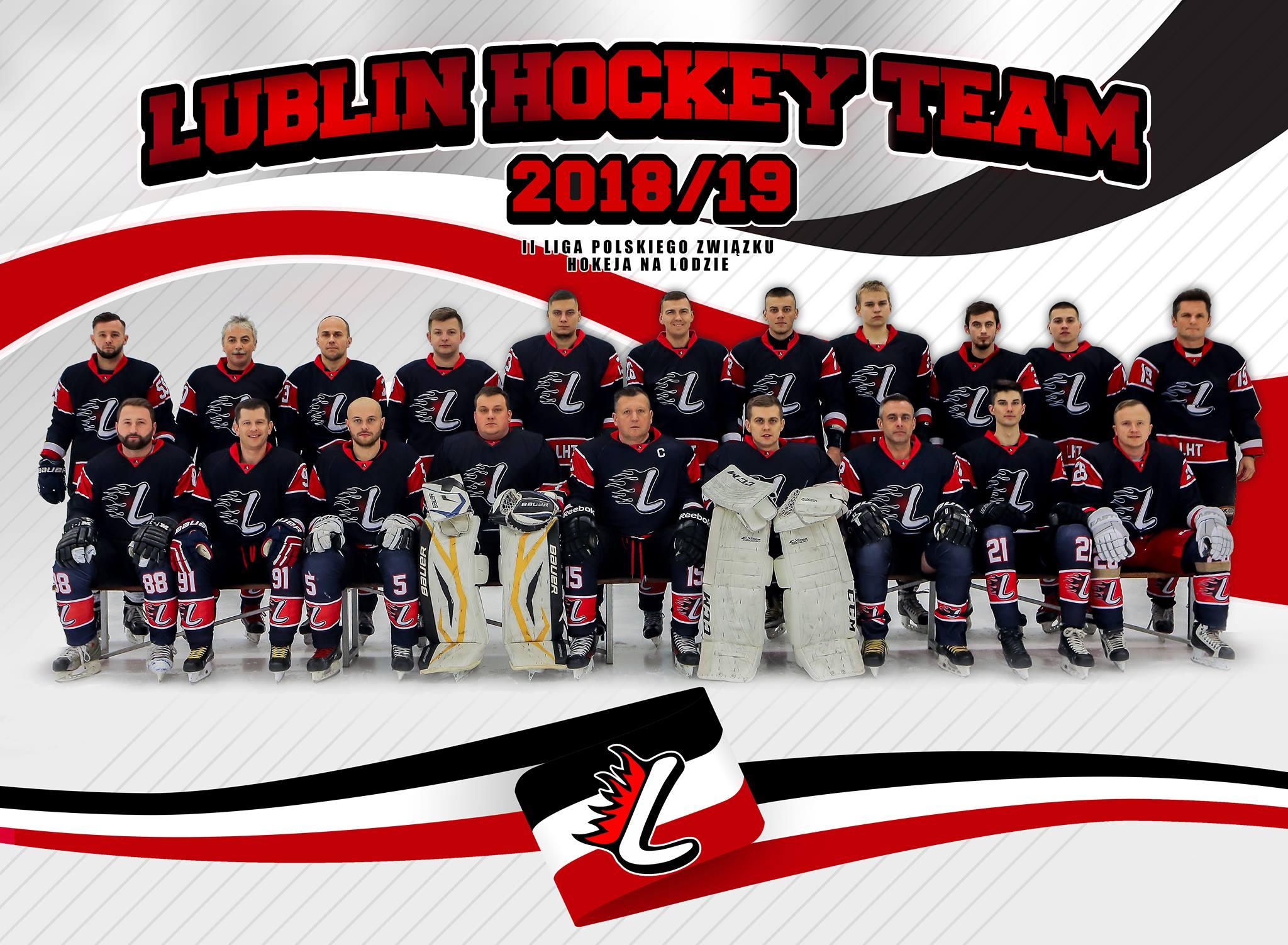Hokej na lodzie: LHT Lublin - Husarię Białystok 9:4