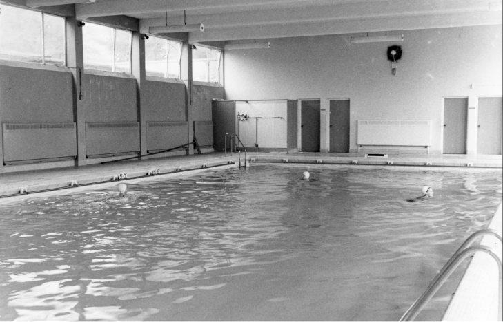 Halowe Mistrzostwa Polski Juniorów w pływaniu 1972 r.