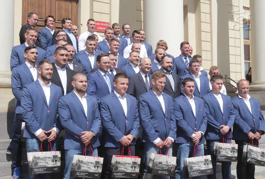Spotkanie Prezydenta z Reprezentacją Polski w Rugby