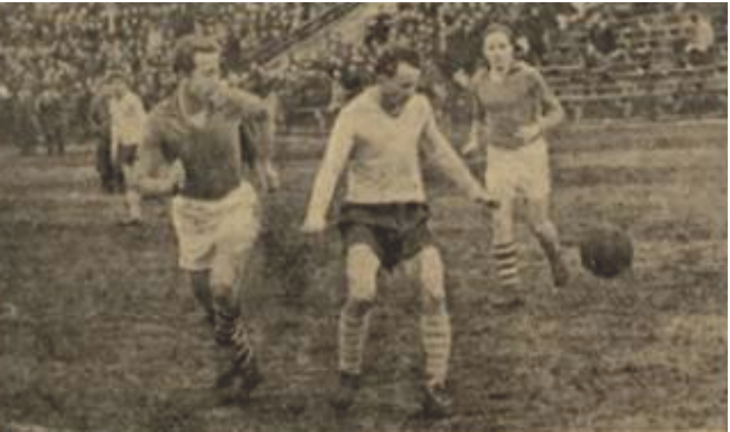 Skład lubelskich drużyn piłkarskich z 1959 r.