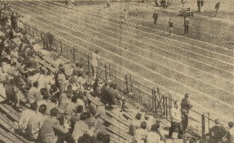 Międzyokręgowy trójmecz lekkoatletyczny Lublin - Łódź - Olsztyn 1962