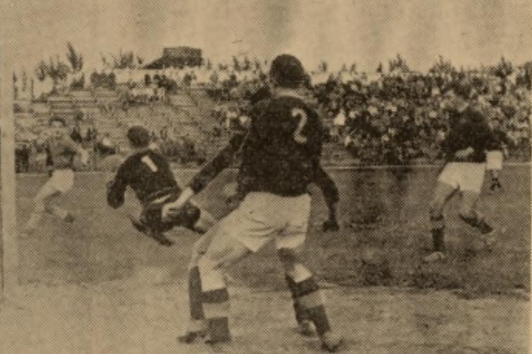 Mecz sezonu 1958: Lublinianka - VTJ Dukla Praga