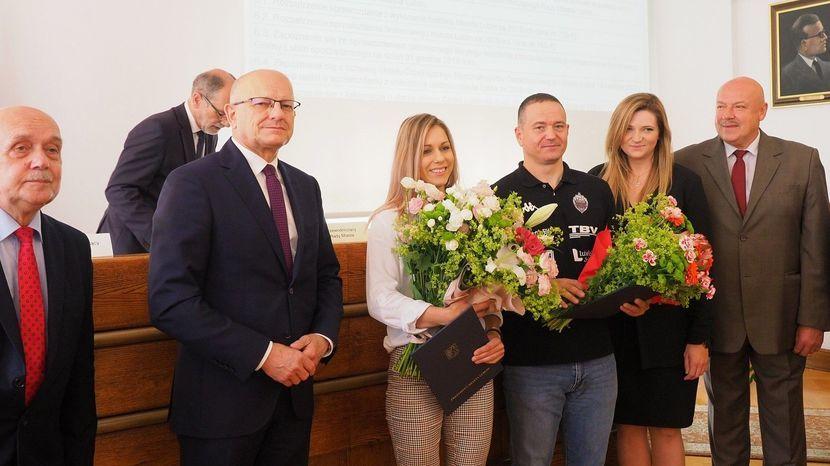 Aleksandra Mirosław oraz David Dedek otrzymali Nagrody sportowe miasta Lublin