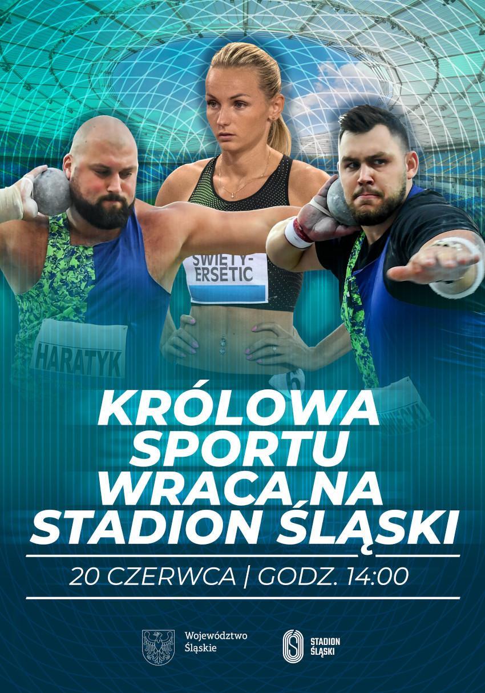 """Miting: """"Królowa Sportu wraca na Stadion Śląski"""""""