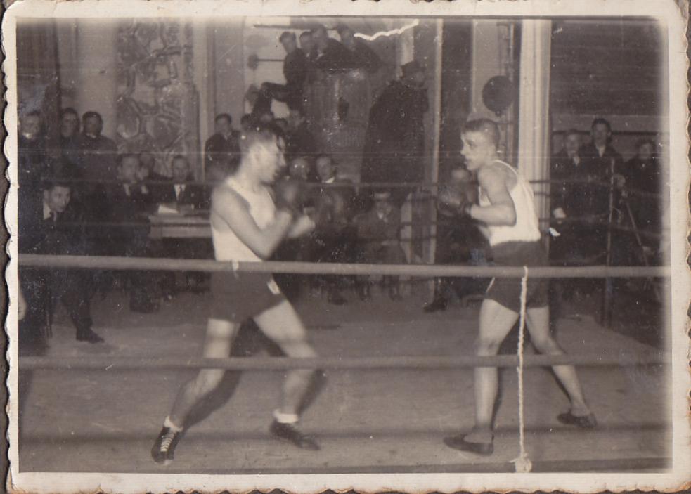 Zawody bokserskie we wrześniu 1944 r.