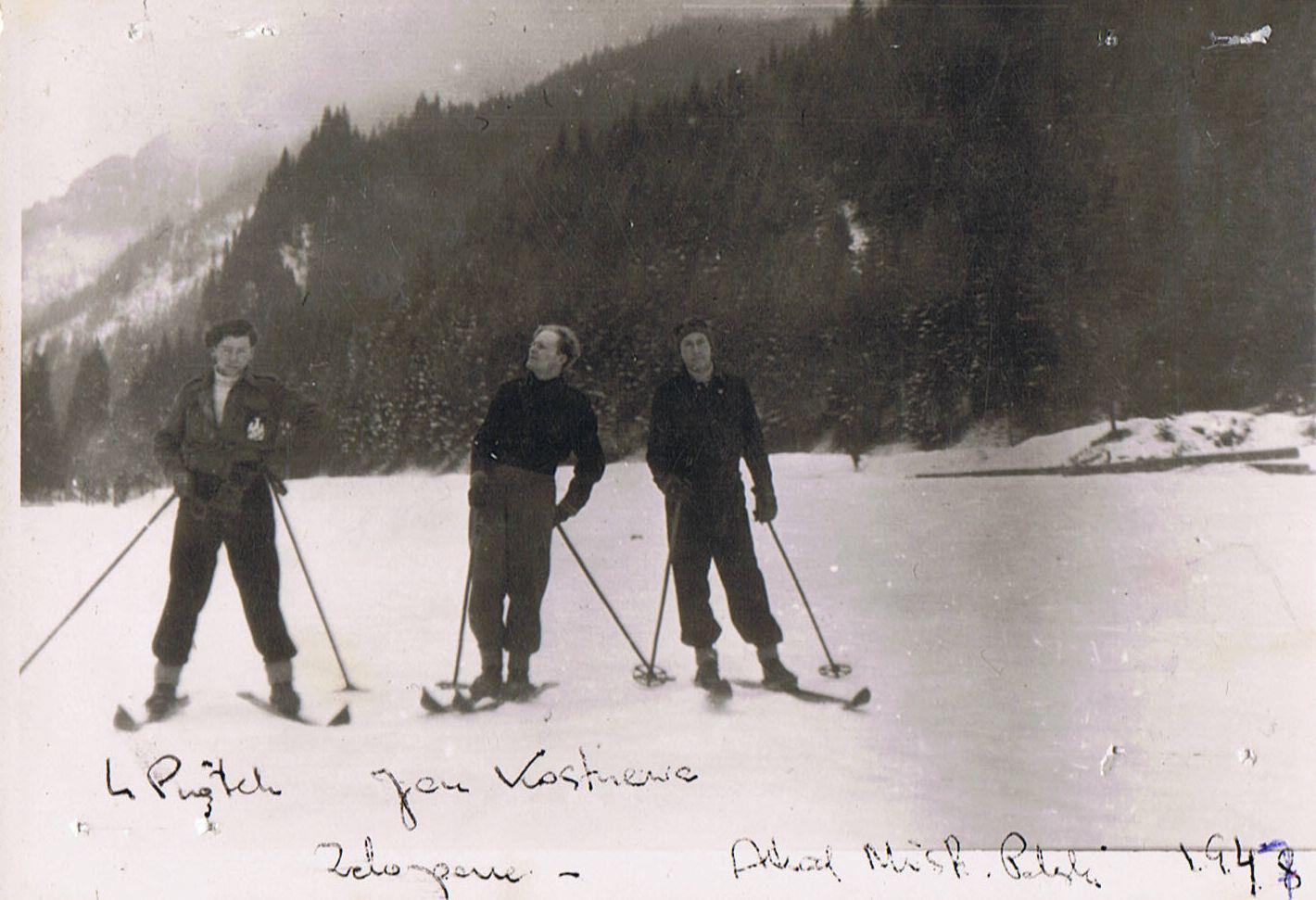 """Biegacze i skoczkowie sekcji narciarskiej """"WKS Lublinianka"""" w latach 1955 – 1964. Cz. III -"""