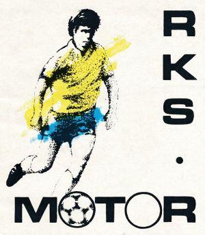 """Z archiwum Centrum Historii Sportu w Lublinie: broszura """"RKS Motor Lublin. Pierwsza liga piłki nożnej 1984/85"""""""