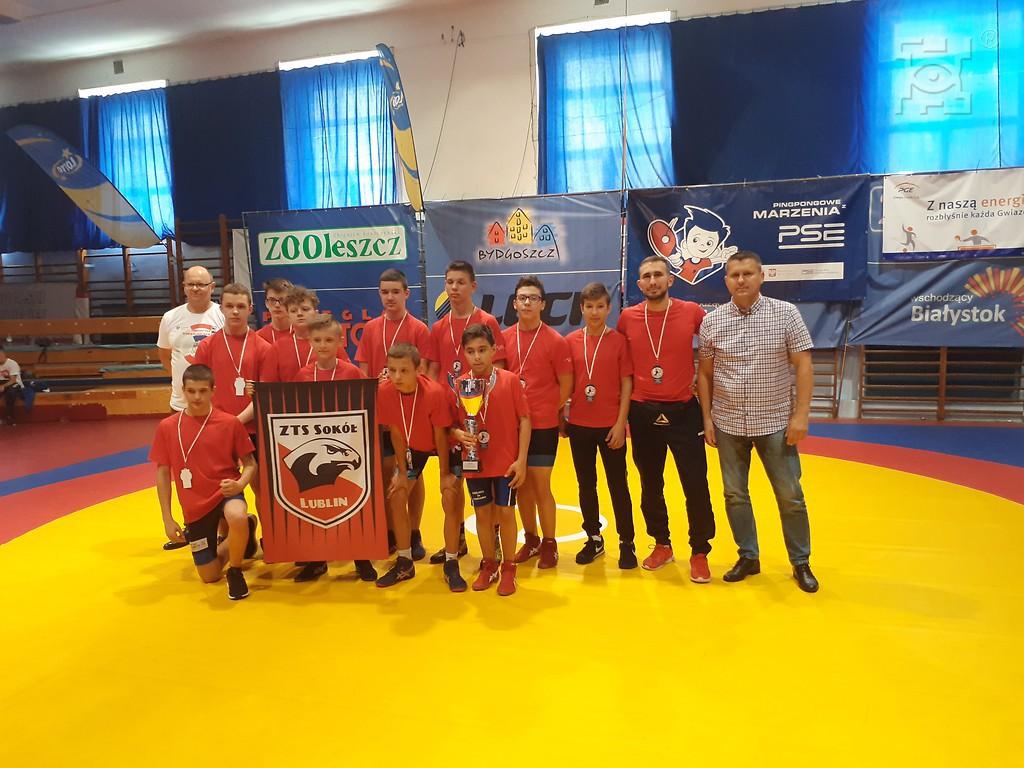 Sokół Lublin podczas turnieju Bartnicki Cup 2.0.