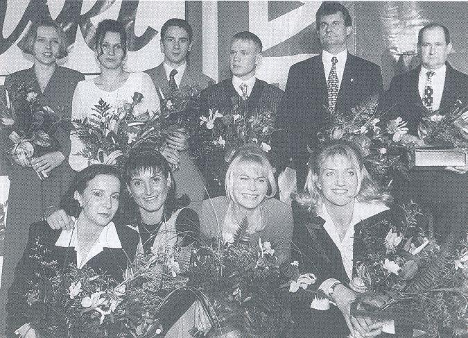 Plebiscyt na najlepszego sportowca Lubelszczyzny z 1997 r.