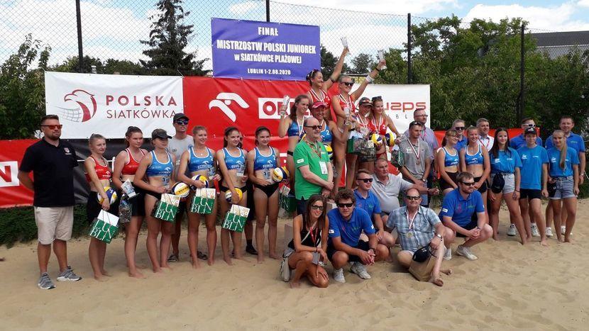 Zawodniczki AZS UMCS TPS Lublin mistrzyniami Polski w siatkówce plażowej