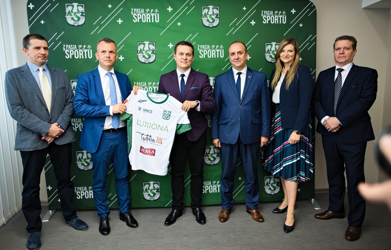 Nowy sponsor drużyny futsalistów AZS UMCS Lublin