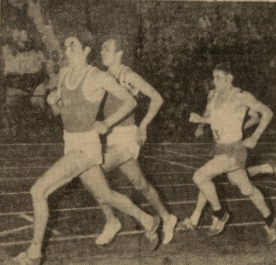Trójmecz lekkoatletyczny juniorów: Polska - Rumunia - NRD z 1968 r.