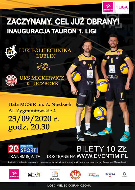 Zapowiedź: LUK Politechnika Lublin - UKS Mickiewicz Kluczbork