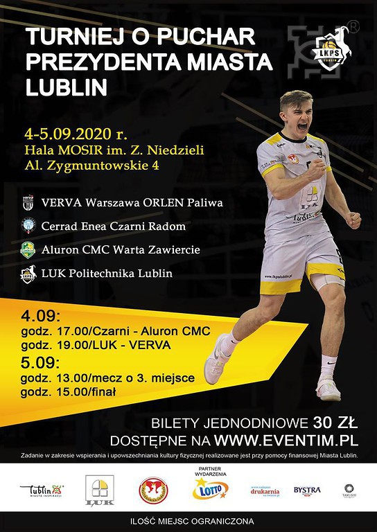 Siatkarskie święto - Turniej o Puchar Prezydenta Miasta Lublin - zapowiedź