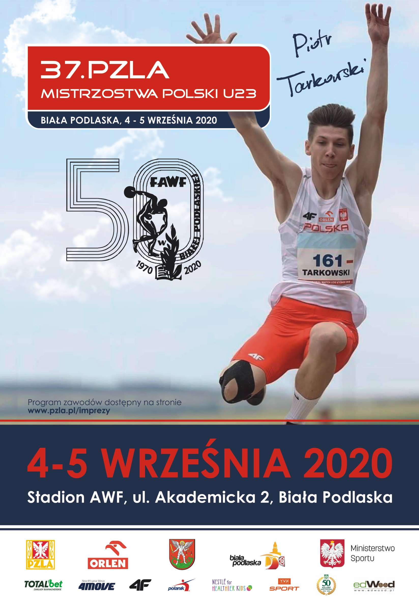 Sześć medali dla AZS UMCS Lublin podczas 37. PZLA Mistrzostw Polski U23