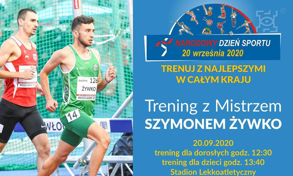Narodowy Dzień Sportu w Lublinie - Trening z Mistrzem