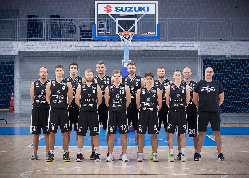 Koszykówka mężczyzn: MKS Ochota Warszawa ‒ U!NB AZS UMCS Start Lublin 66-88 (19-23, 16-22, 14-24, 17-19)