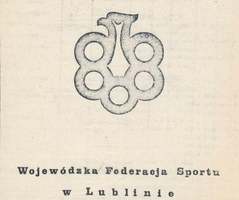 """Z archiwum Centrum Historii Sportu: """"Biuletyn Wojewódzkiej Federacji Sportu w Lublinie. Nr. 1/83"""""""