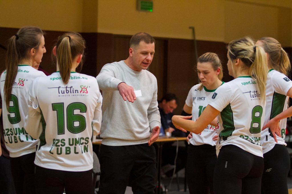 Siatkówka kobiet: JKS San Jarosław ‒ MKS AZS UMCS Lublin 23-19 (13-10)