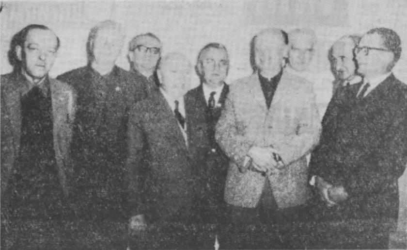 """Wieczór wspomnień """"ludzi sportu"""" z 1969 r."""
