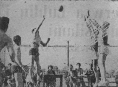 Najlepsi lubelscy siatkarze i koszykarze 1945 r.