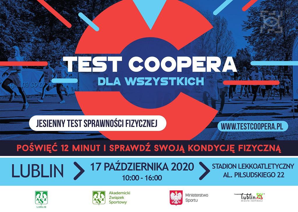 Test Coopera - sprawdź swoją kondycję