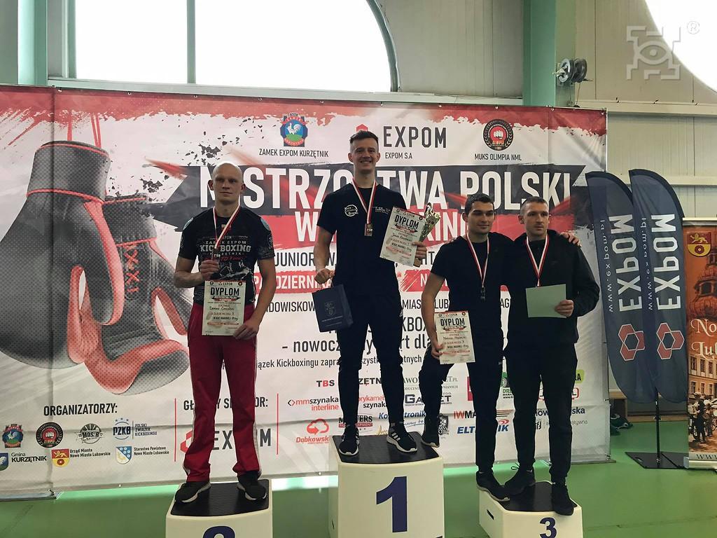 Jakub Kalinowski Mistrzem Polski w  Kickboxingu!