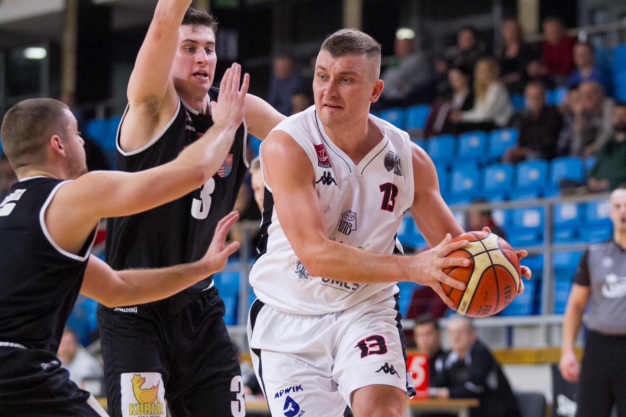 AZS UJK Kielce ‒ U!NB AZS UMCS Start Lublin 50-86