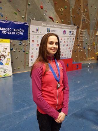 Agata Lesiewicz z brązowym medalem Pucharu Europy
