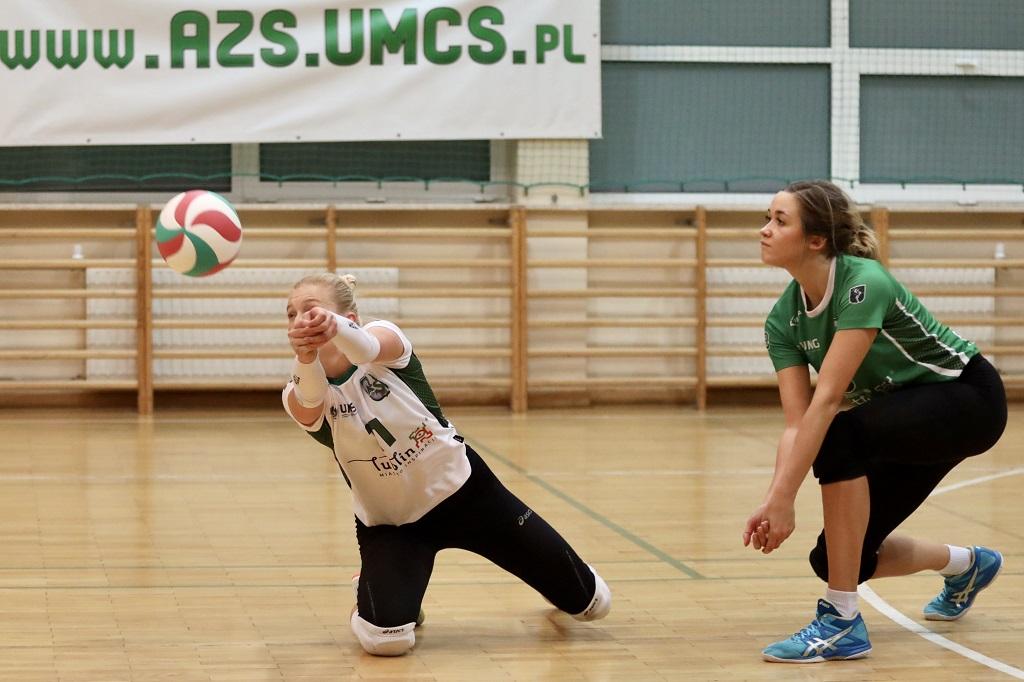 Dwa mecze siatkarek AZS UMCS