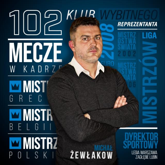 Michał Żewłakow dyrektorem sportowym Motoru Lublin