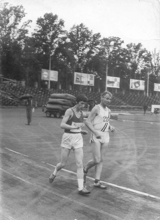 Sezon lekkoatletyczny 1967 r. w tabelach - konkurencje biegowe
