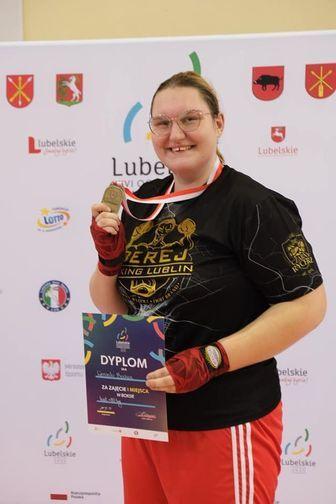 Weronika Bochen srebrną medalistką Mistrzostw Europy kadetek w boksie