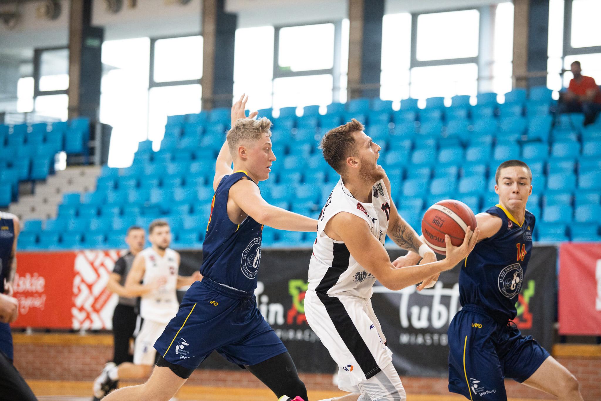 U!NB AZS UMCS Start Lublin - Żubry Białystok 106-46