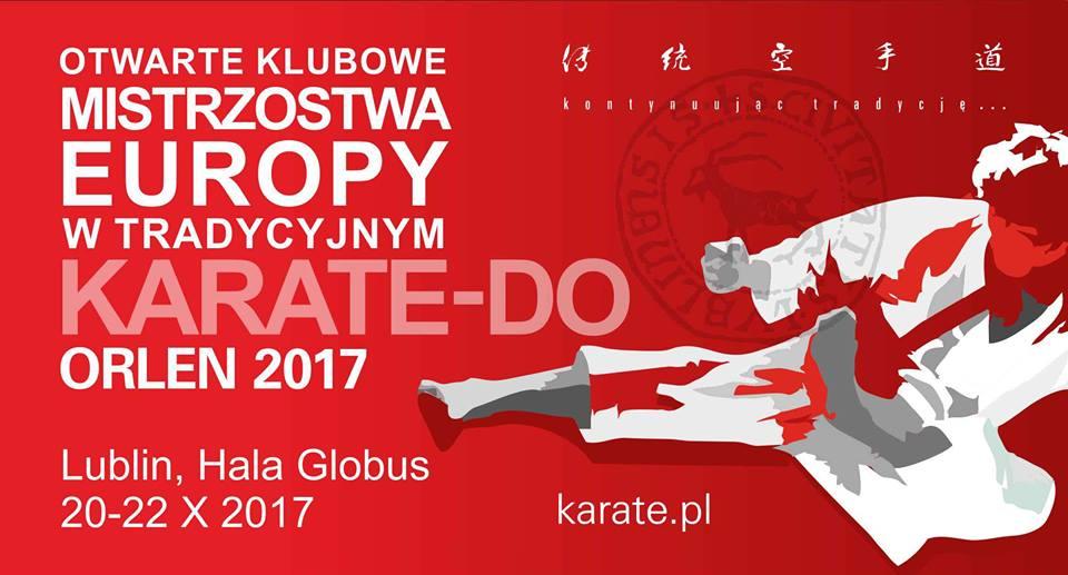 Lublin gościł Otwarte Klubowe Mistrzostwa Europy Orlen 2017 w karate