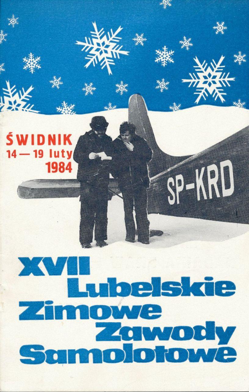 """Z archiwum Centrum Historii Sportu: """"XVII Lubelskie Zimowe Zawody Samolotowe"""""""