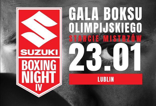 Suzuki Boxing Night IV - zapowiedź