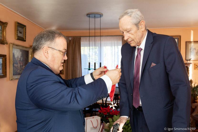 Tomasz Wójtowicz odznaczony Krzyżem Komandorskim Orderu Odrodzenia Polski.