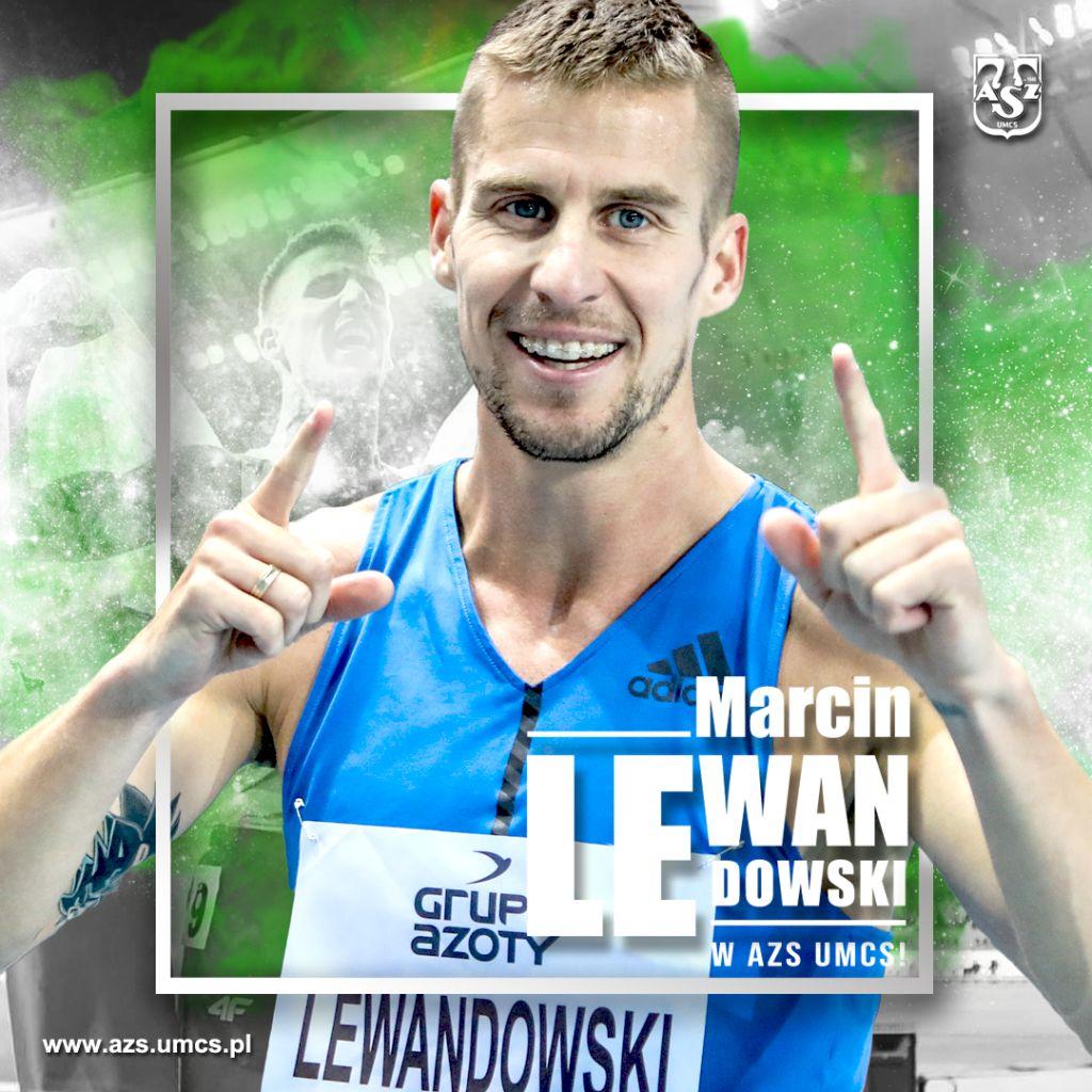 Marcin Lewandowski w AZS UMCS Lublin