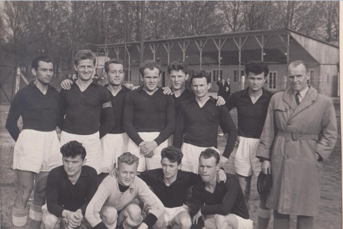 Składy lubelskich drużyn piłkarskich z 1960 r.