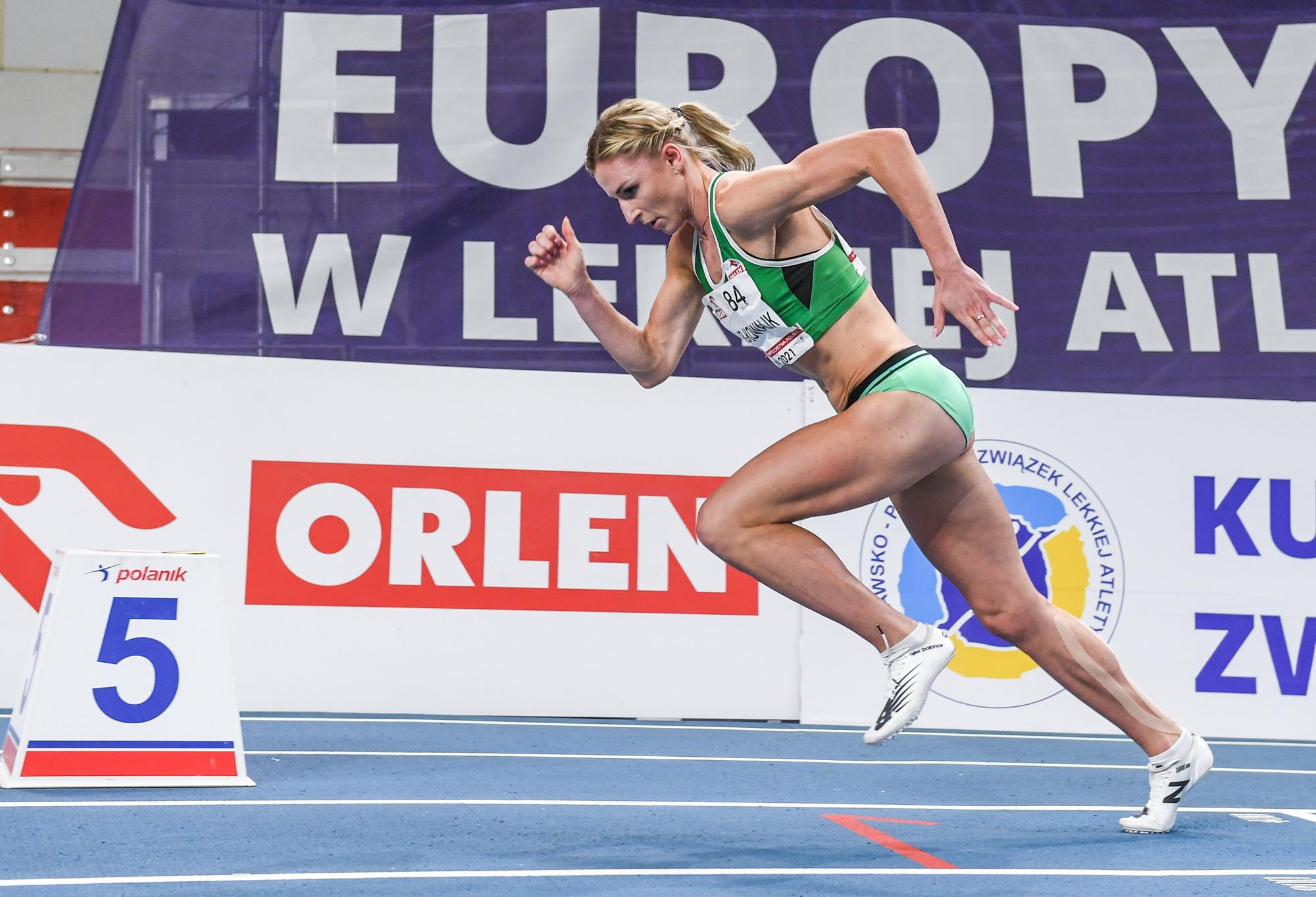 Małgorzata Hołub - Kowalik z medalem halowych mistrzostw Europy