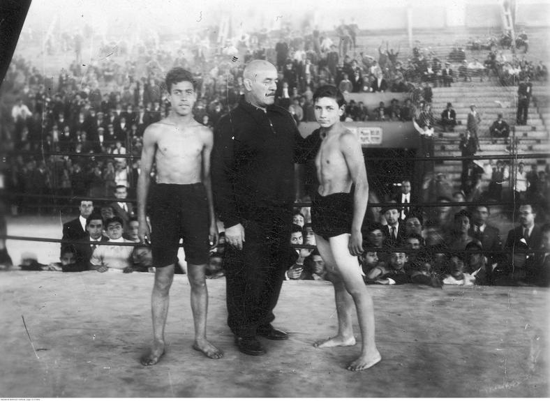 """""""Zapasy bokserskie"""" o Mistrzostwo Lublina w 1922 r."""
