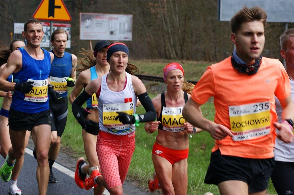 Mistrzostwa Polski w maratonie kobiet i mężczyzn z sukcesami